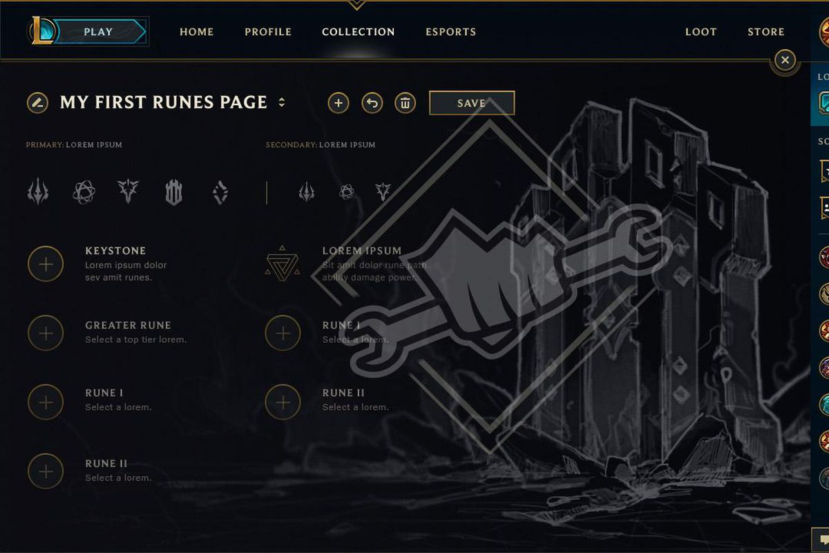 Extra rune pages will still cost IP or RP - The Rift Herald