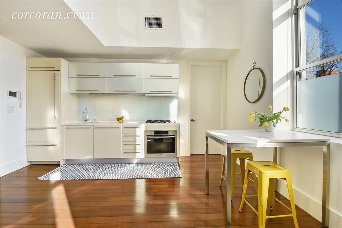 For $899,000, a mod Williamsburg triplex with 24-foot ceilings ...