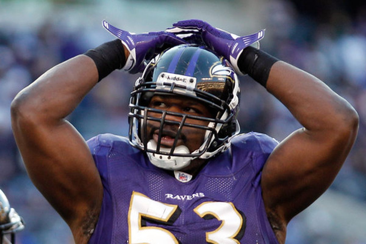 The Baltimore Sun reported Jameel McClain took a $1.5 million pay cut on Thursday.