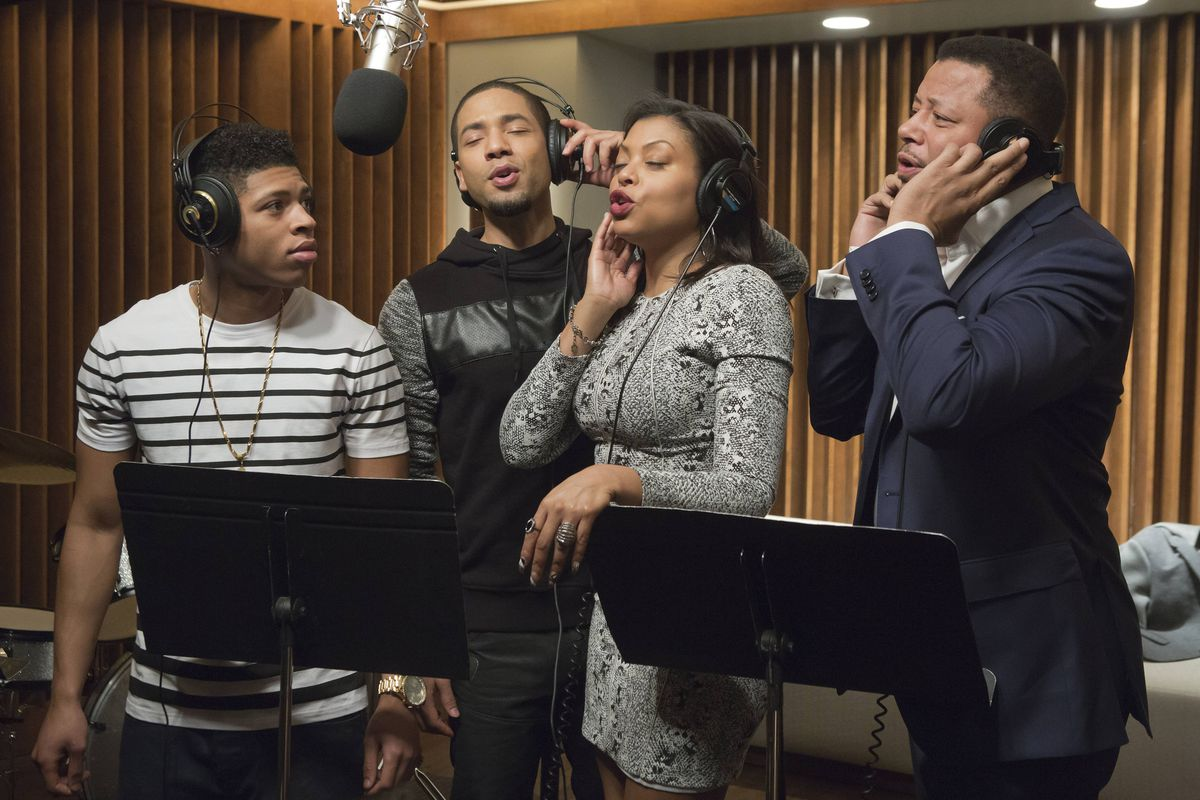 "The cast of Fox's smash hit ""Empire"""