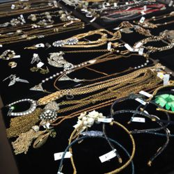The selection is very bling-y