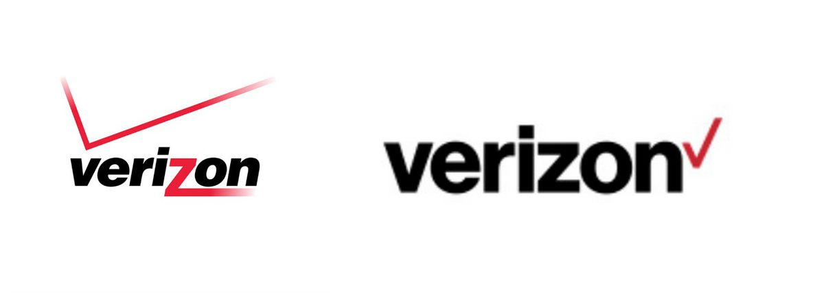 verizon just unveiled a new logo