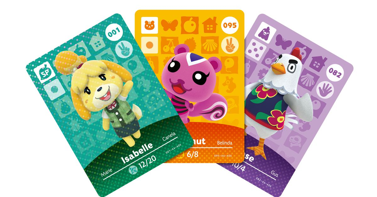 Nintendo's Animal Crossing amiibo cardswill be back in stores this November