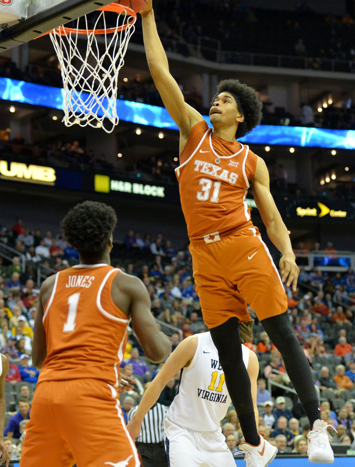 NCAA Basketball: Big 12 Championship-West Virginia vs Texas