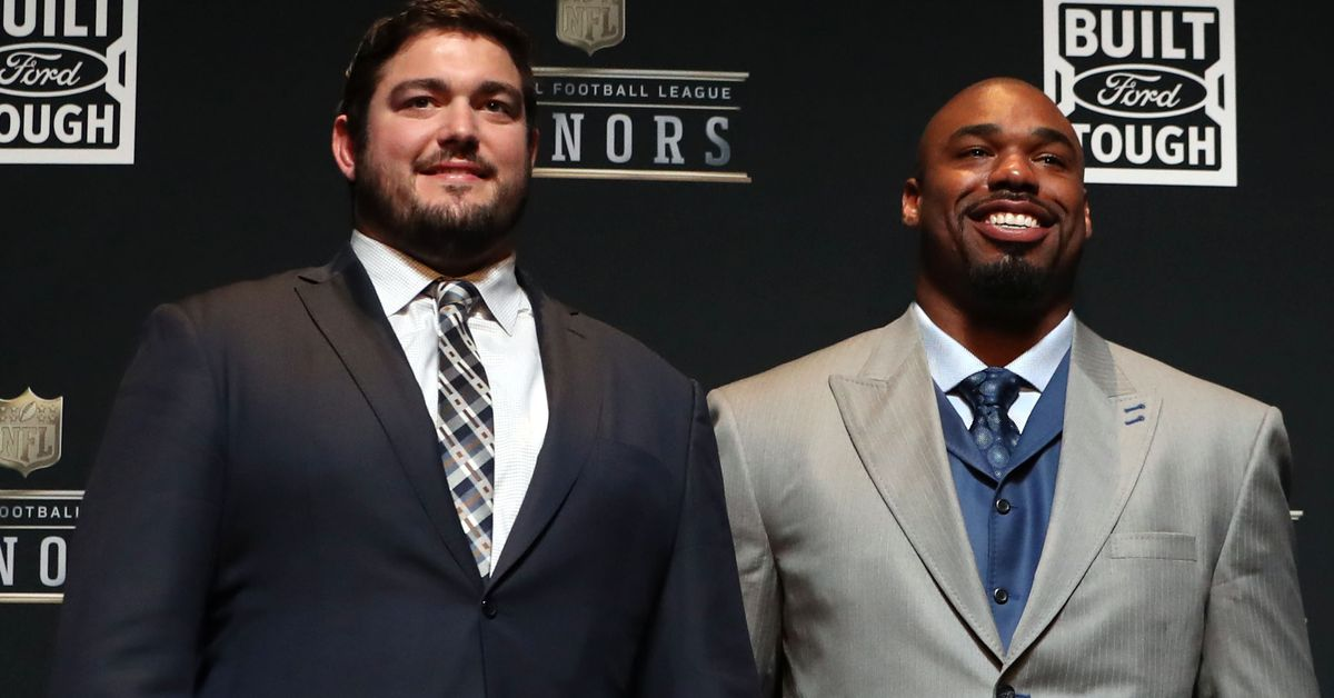 Cowboys linemen Tyron Smith and Zack Martin named to Pro Football Hall of Fame 2010s All-Decade Team
