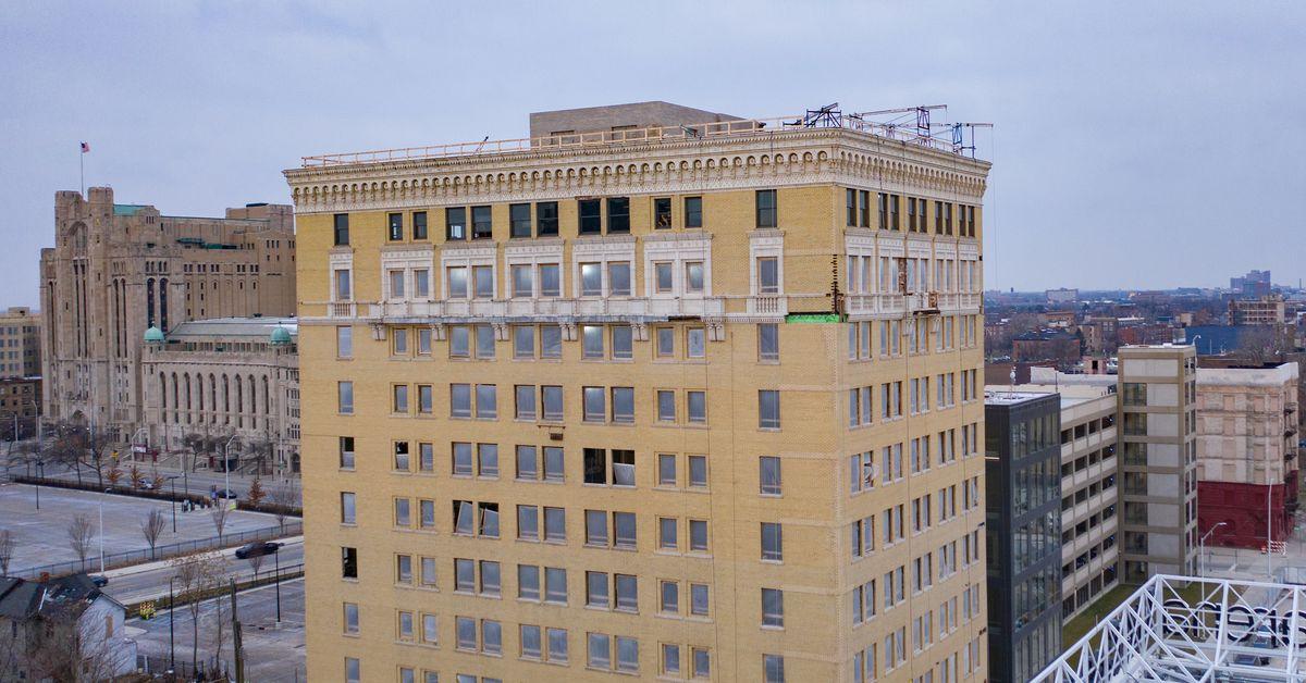Ilitches provide update and rare look inside Eddystone Hotel redevelopment