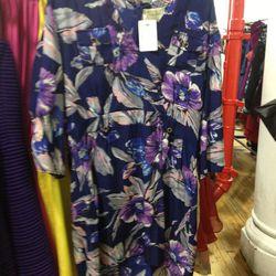 <b>Yumi Kim</b> floral three-quarter sleeve dress, $32 (from $258)