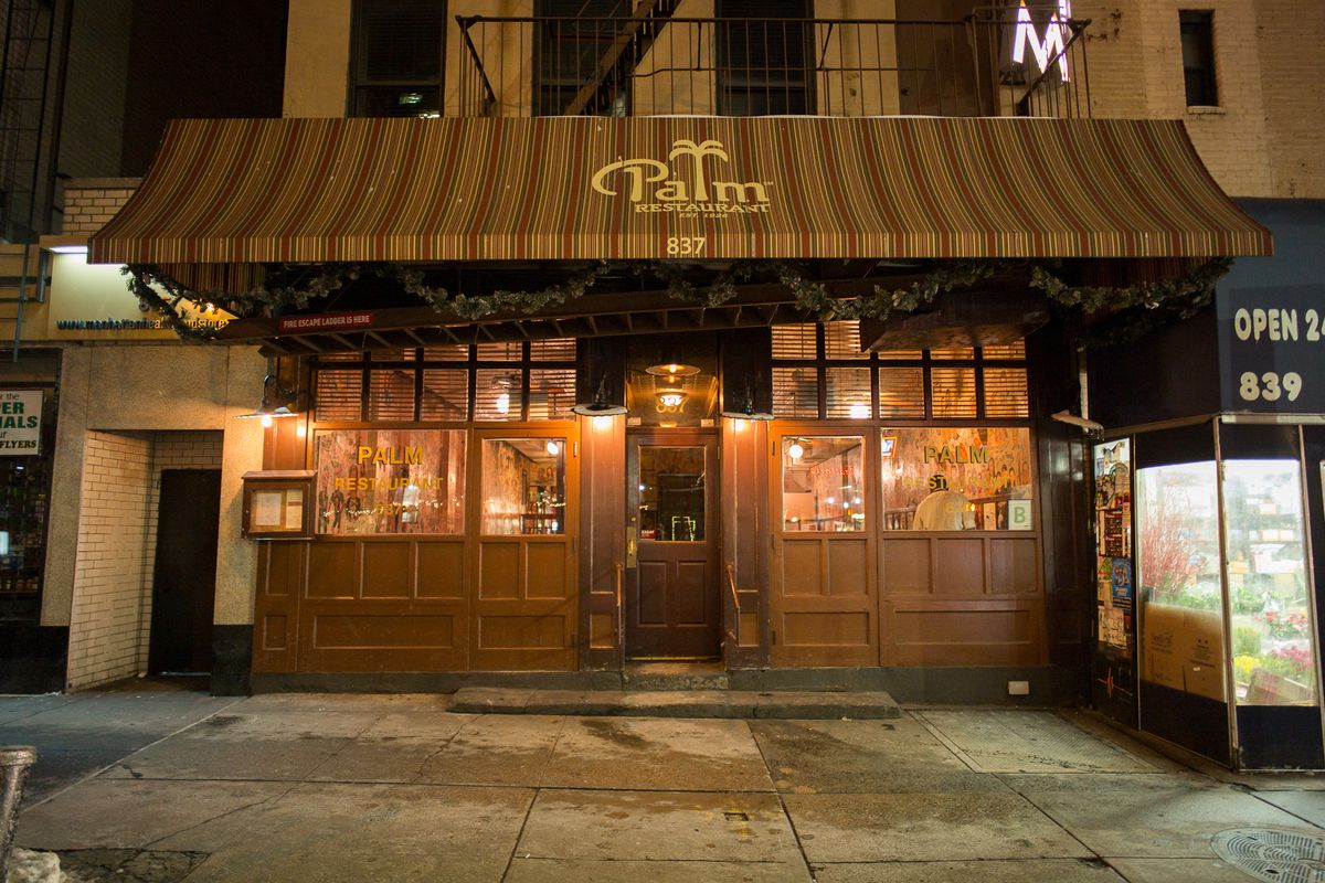 69916433907 NYC Steakhouse the Palm s Parent Company Files for Bankruptcy Following  Bitter Lawsuit