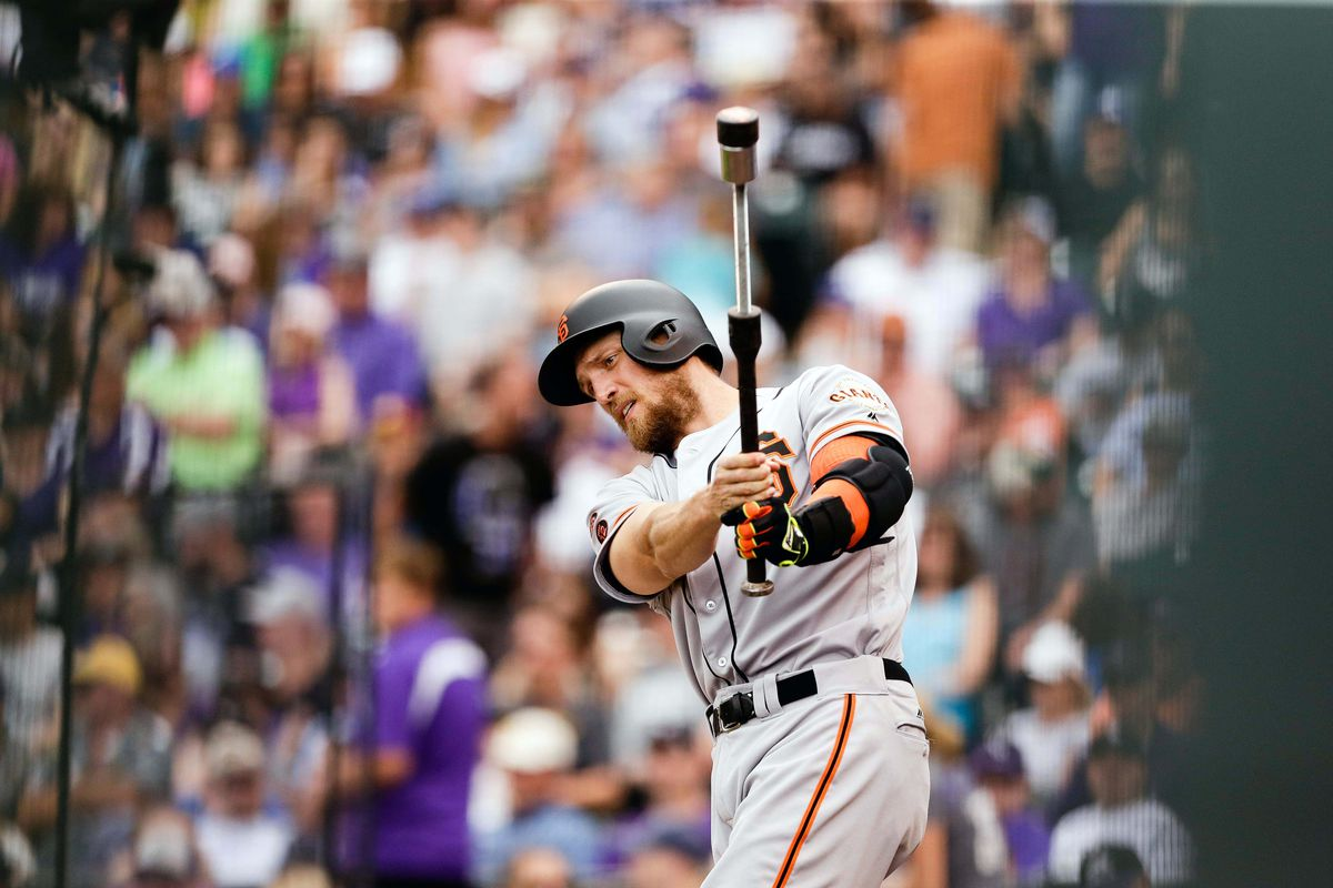 Hunter Pence reenacts the prison escape sequence from GUARDIANS OF THE GALAXY.