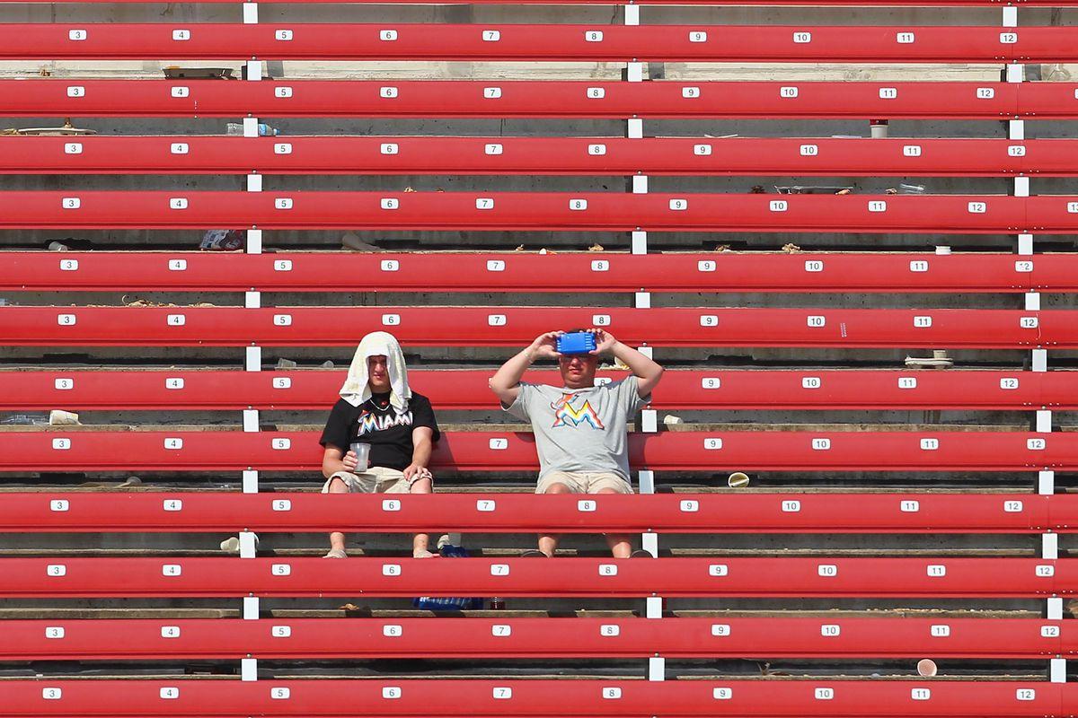 Miami Marlins v St. Louis Cardinals