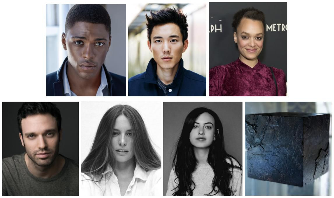 images of the new cast in the umbrella academy