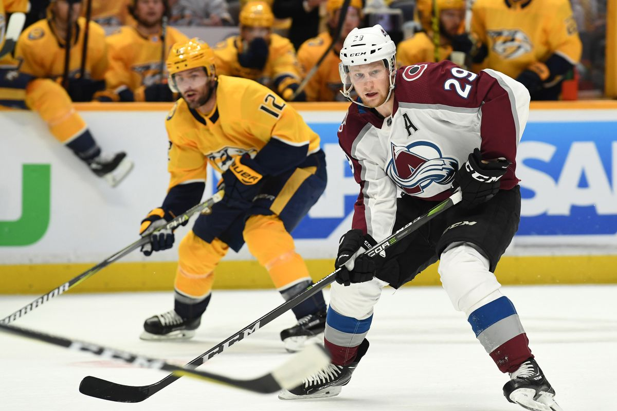 Yzing The Forward Depth Chart Of Colorado Avalanche