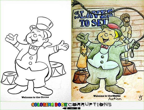 12 coloring book corruptions your sick little mind is gonna eat up