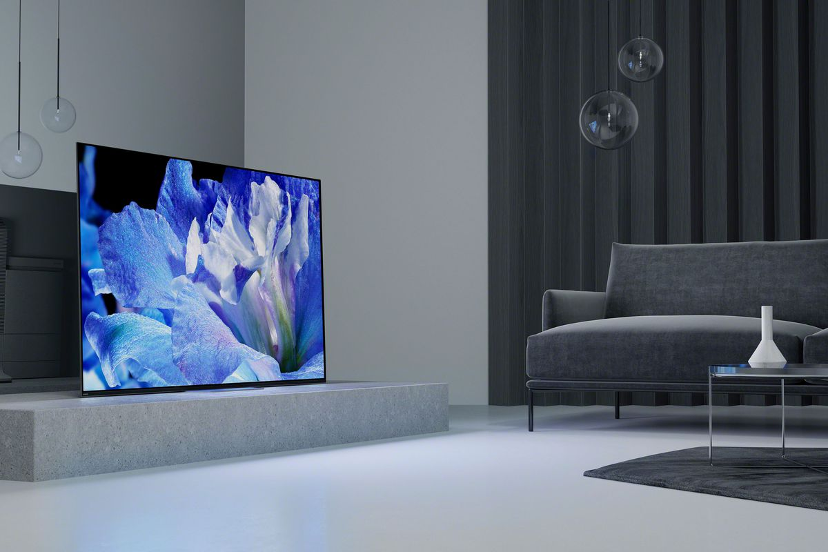 A Slight Expansion Of The OLED TV Market Sony Debuted Its First Large Screen Consumer 4K Set To Utilize Display Technology In Living Room