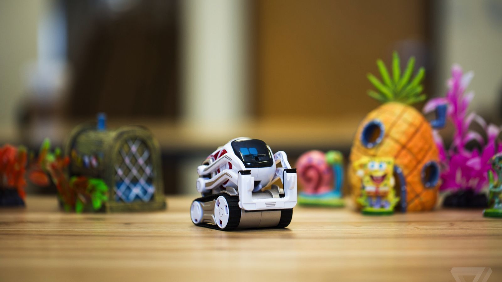 Robot Toys For Kids >> Anki's Cozmo robot is the new, adorable face of artificial intelligence - The Verge