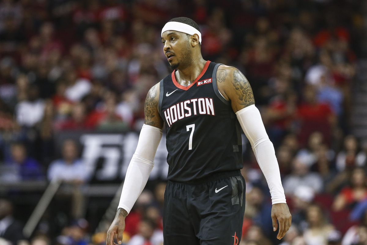 ecd63d42b6d Carmelo Anthony s Rockets career is over after 10 games. How did this  happen