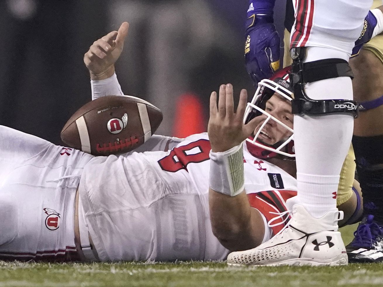 How Utah surrendered a three-touchdown halftime lead to lose 24-21 to Washington