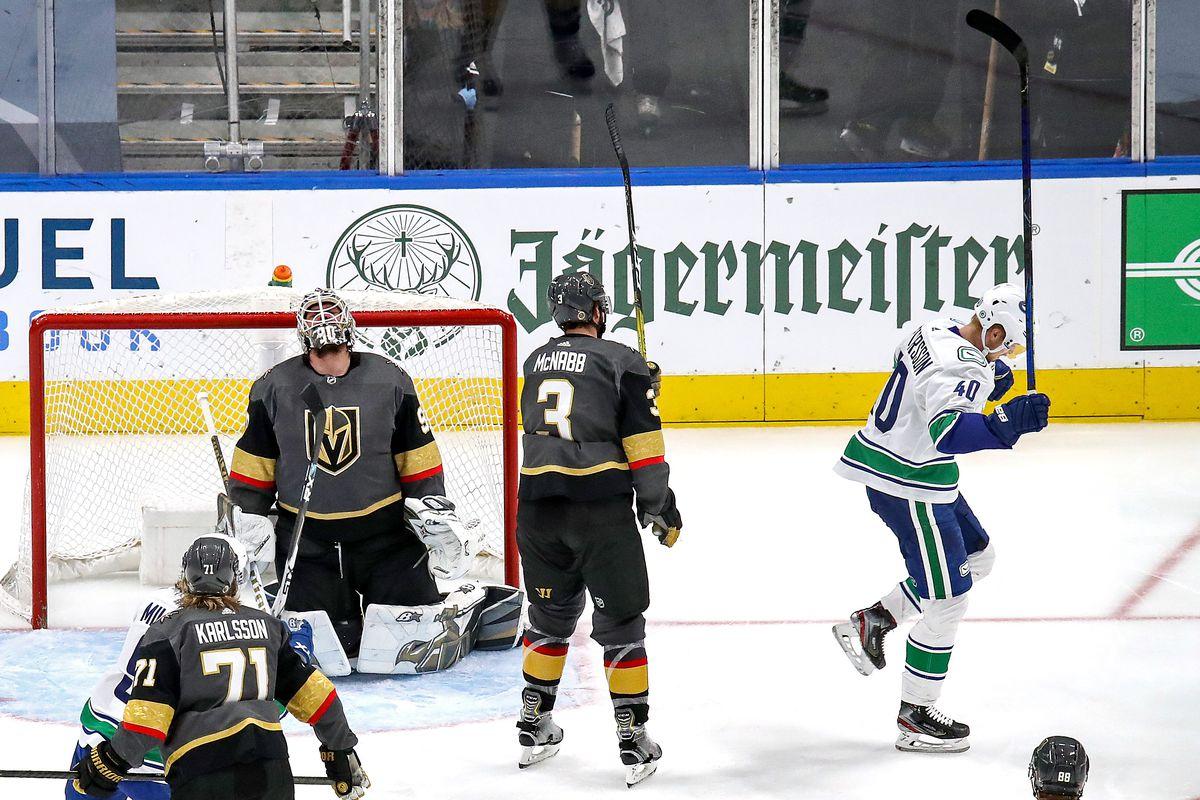 Vancouver Canucks v Vegas Golden Knights - Game Five