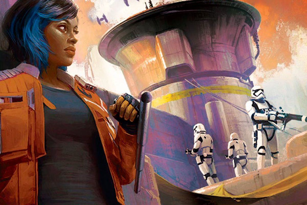 crop from cover of Star Wars: Galaxy's Edge —Black Spire
