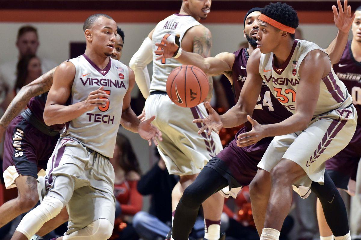 NCAA Basketball: Maryland - E. Shore at Virginia Tech
