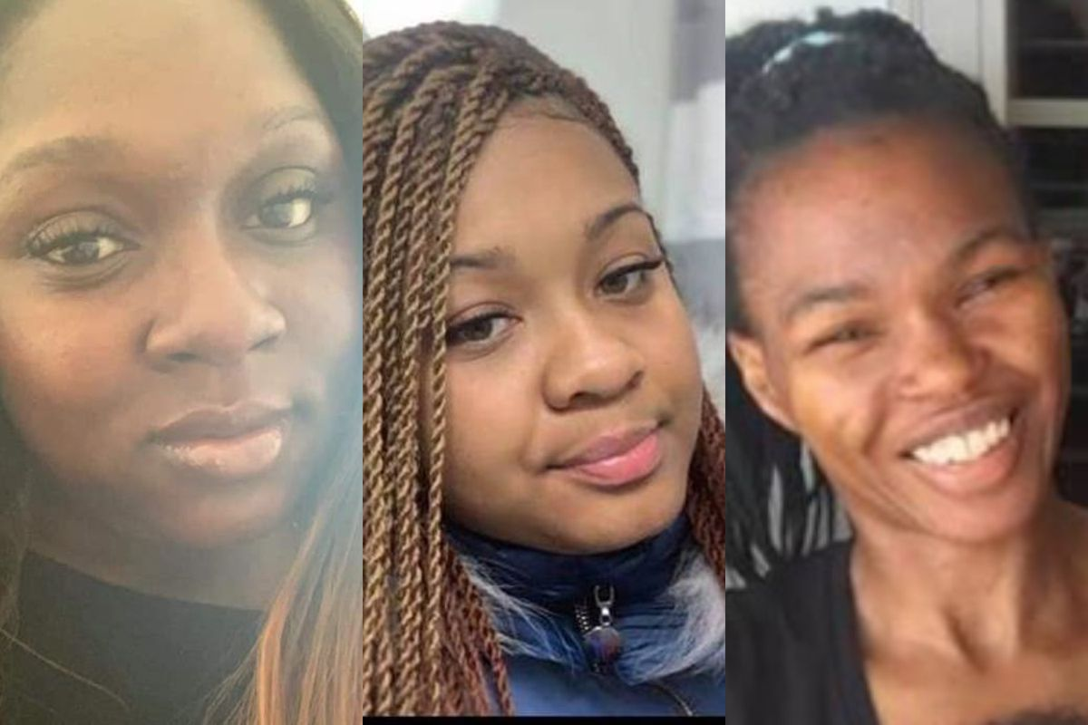 Three recent victims of gun violence in Dolton include (left to right): Angelneka Smith, 31; Akeira Boston, 16; and Marshia Bowman, 40.