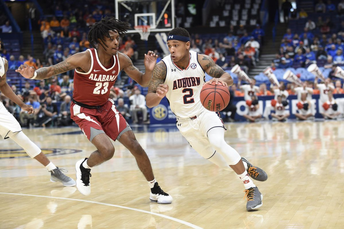 NCAA Basketball: SEC Conference Tournament-Auburn vs Alabama