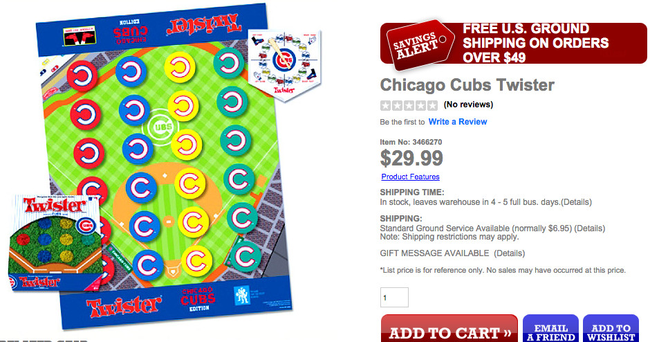 Cubs Twister
