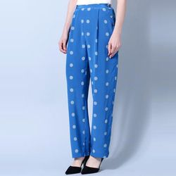 """<b>No. 6</b> Heirloom Polka Dot Wide Leg Pants, <a href=""""http://shopbird.com/product.php?productid=26800&cat=619&manufacturerid=&page=1"""">$129</a> (from $328) at Bird"""