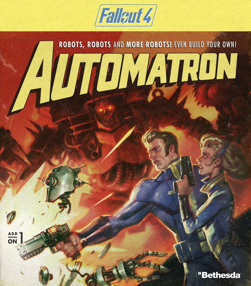 Fallout 4 - Automatron DLC art