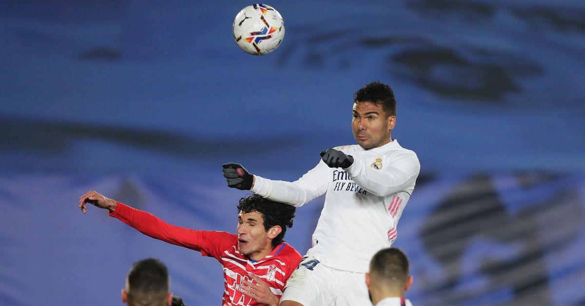 Current reaction: Real Madrid 2 – 0 Granada