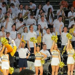 Band and Cheerleaders