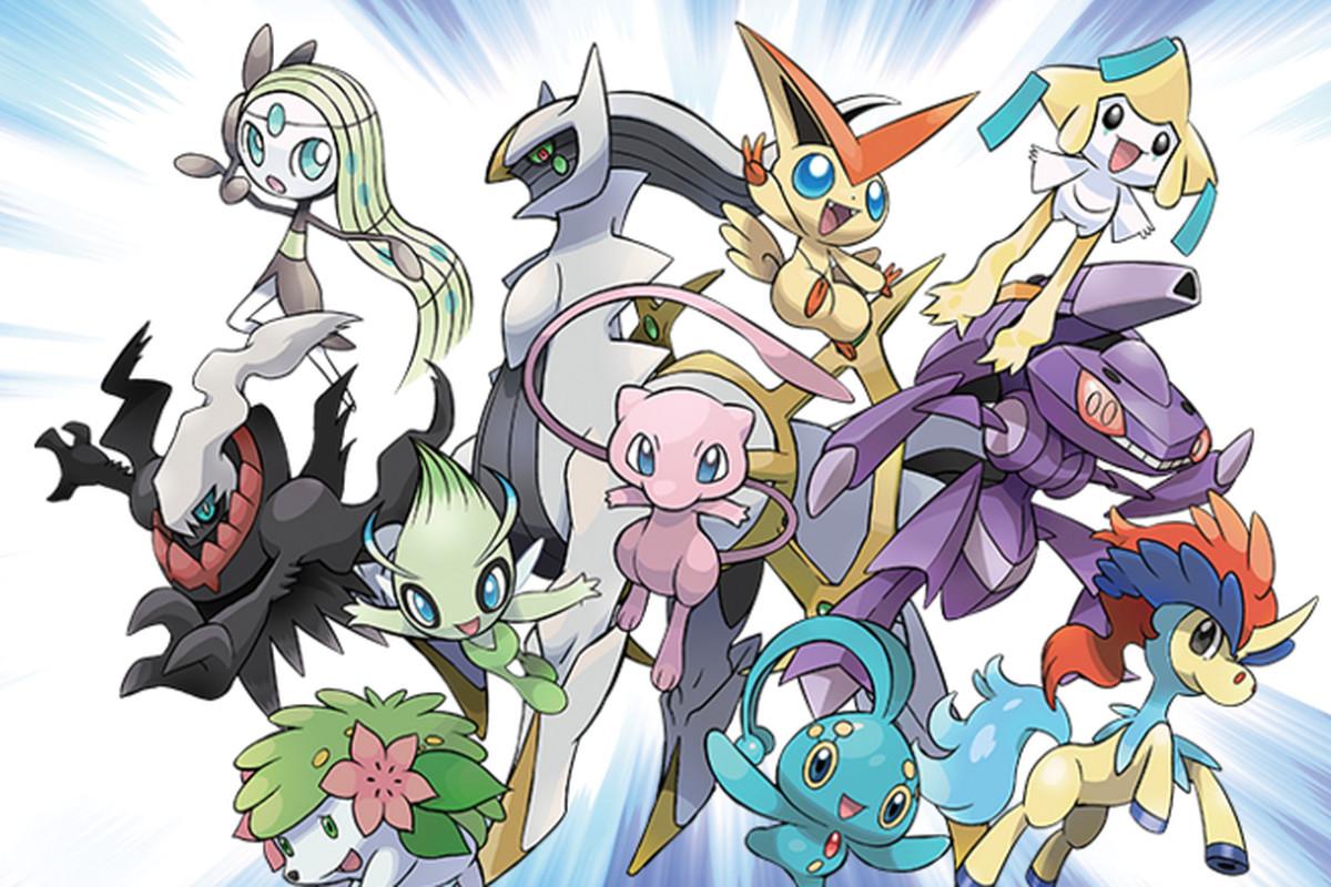Download mew and more pok mon legendaries starting next - Pokemon legendaire ...