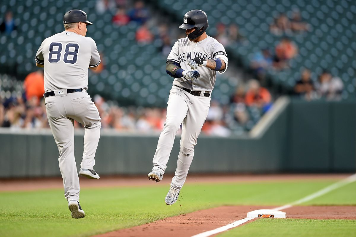 Gleyber Torres hits two more homers as the Yankees beat the Orioles 7-5