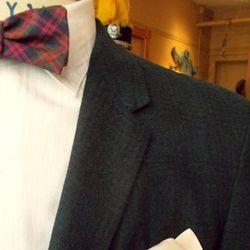 1960s French cuff, spread collar, cotton/poplin shirt ($45, size 15x35) by German company <em>Rotnaht Poplinhemd</em>.