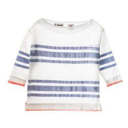 "<b>Lemlem</b> Ishi Smock Shirt in sky blue, <a href=""http://www.lemlem.com/collections/womens/products/ishi-smock-shirt"">$213</a>"