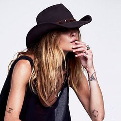 """<strong>San Diego Hat Co.</strong> Sloane Felt Cowboy Hat, <a href=""""http://www.freepeople.com/accessories-hats-hats/sloane-felt-cowboy-hat/"""">$58</a> at Free People"""