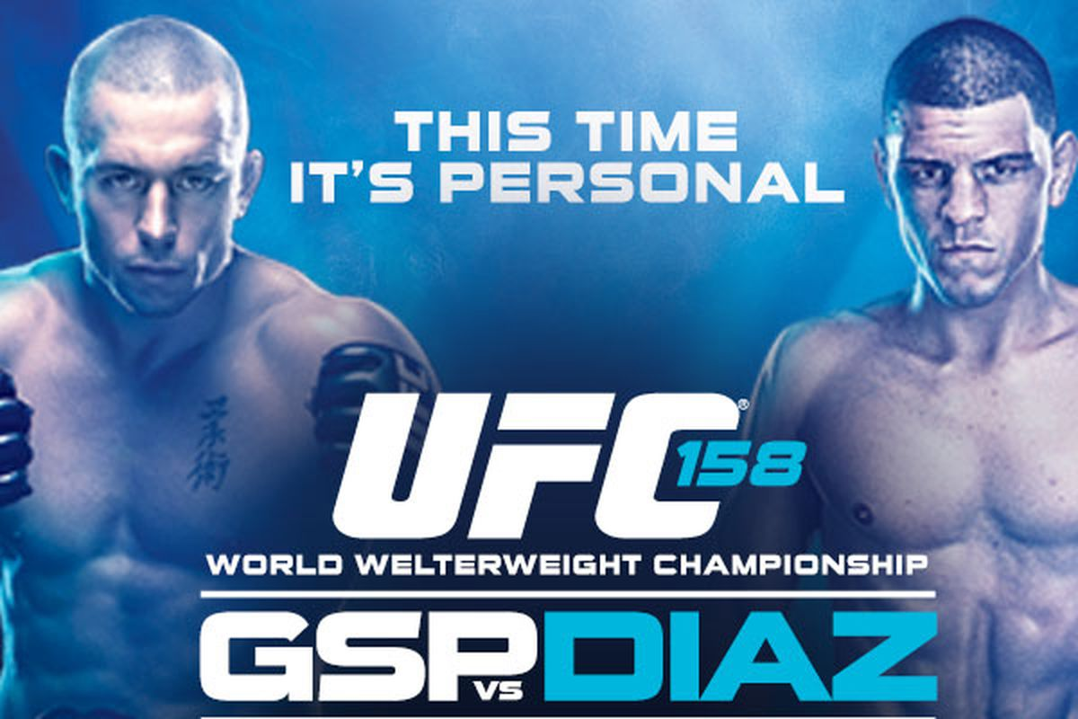 Ufc 158 fight card betting odds prediction site for betting line