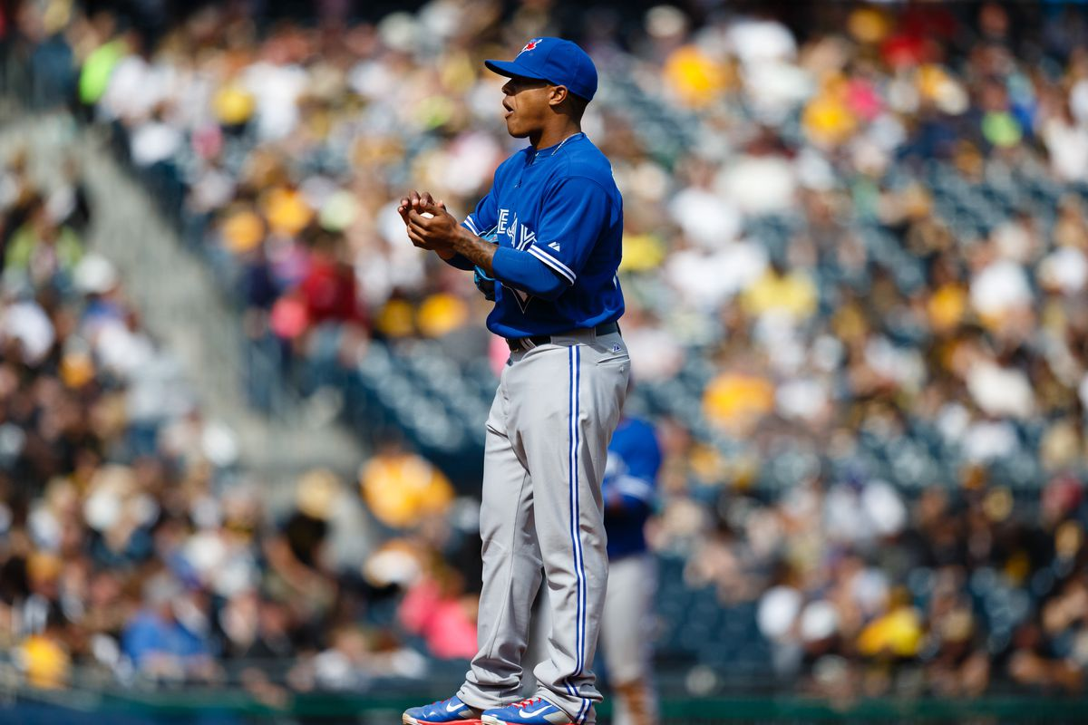 Marcus Stroman on his major league debut in Pittsburgh