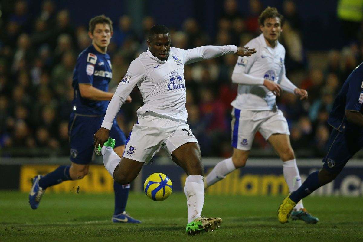 Victor Anichebe is Everton's main injury doubt