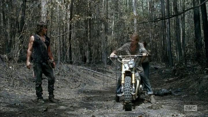 Daryl and his bike.