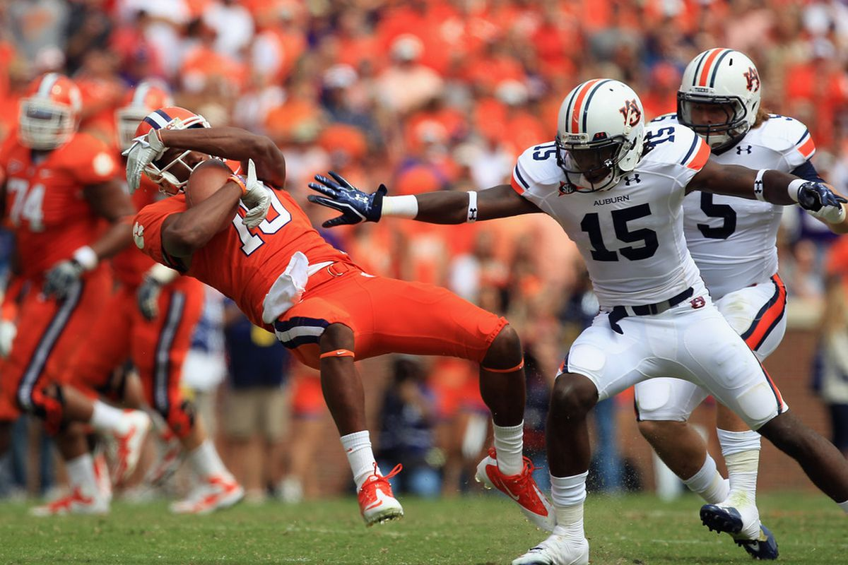 Auburn's Schedule Never Really Lets Up // SEC 2012: The New