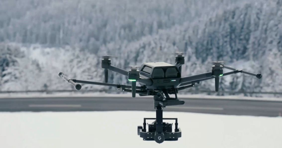 Sony announces the professional Airpeak S1 drone that it teased at CES – The Verge