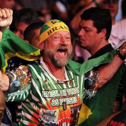This was the first time the UFC had visited Brazil since UFC 17.5 in 1998. The HSBC Arena in Rio was packed to the rafters for promotion's return.