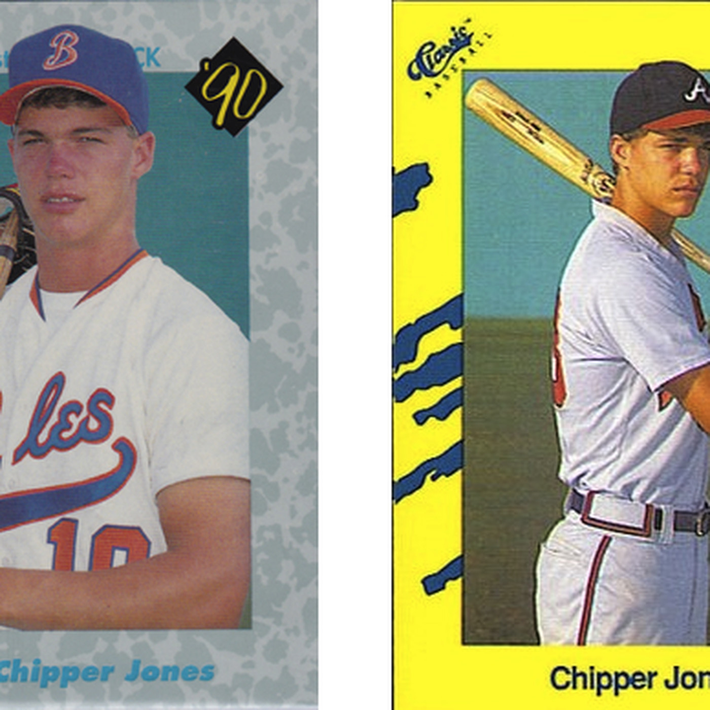 Collecting Chipper Jones 1990 1993 Talking Chop