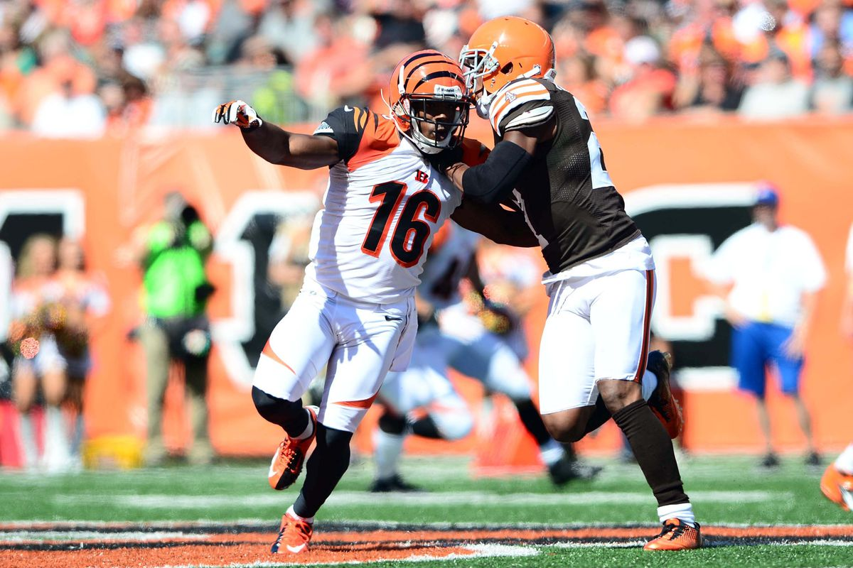The Browns won't let Andrew Hawkins get away so easily.