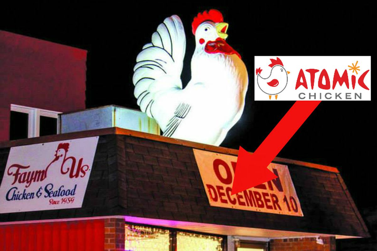 They're keeping the chicken on the roof.
