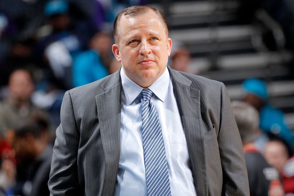 Thibodeau as Bulls coach in 2015 (GettyImages)
