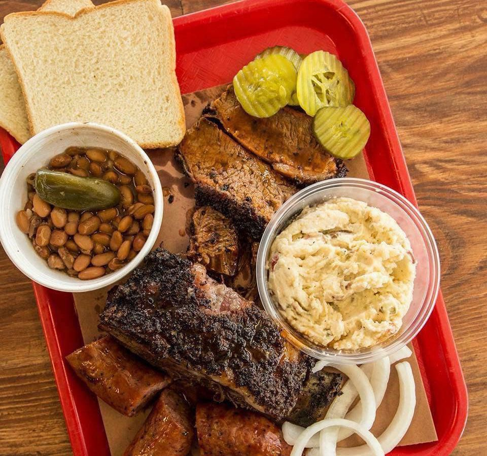 A barbecue tray from Cooper's