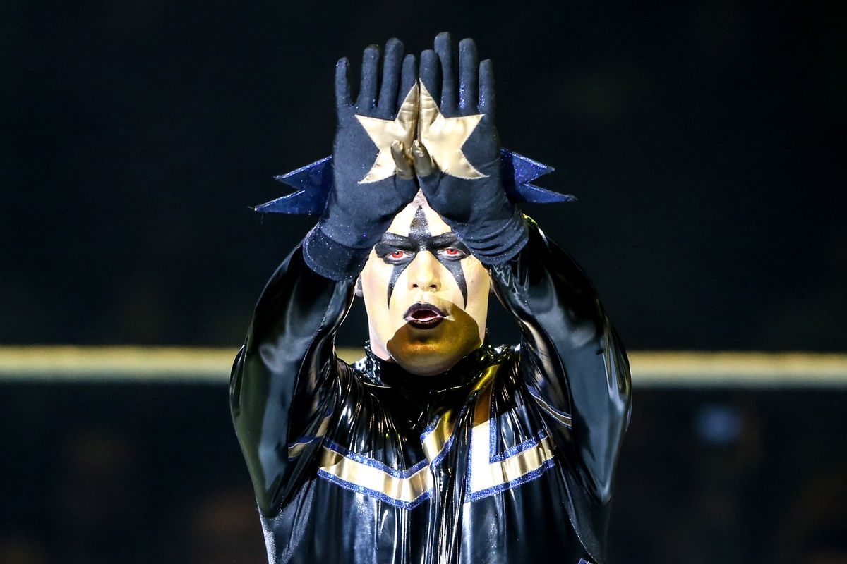 Stardust is a rising star in the WWE.