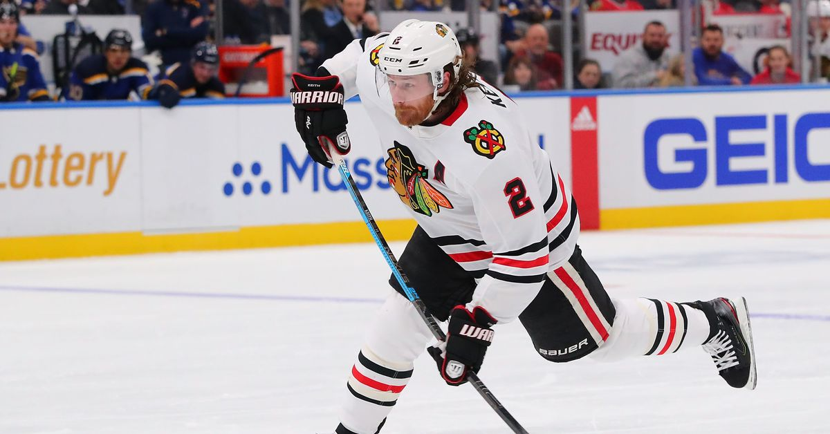 Duncan Keith scores 100th goal, Blackhawks collapse against Blues again